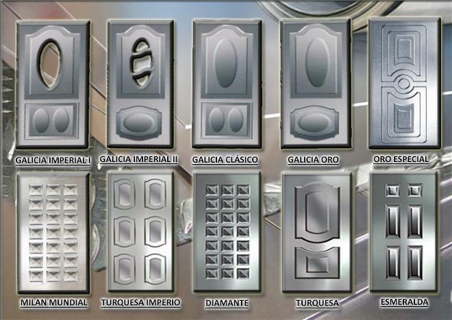 Puertas for Puertas galvanizadas